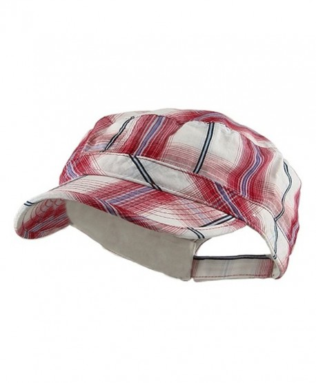Twill Fashion Engineer Cap-Red - CN111QRM2NB
