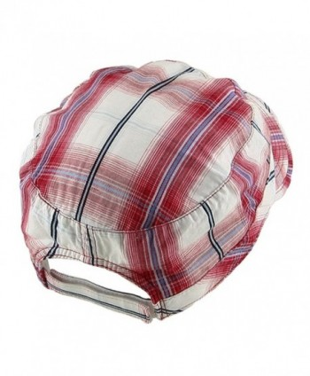 MG Twill Fashion Engineer Cap Red in Men's Newsboy Caps