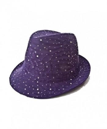 Sparkle Glitter Fedora / Purple / Red Hat Lady Society - C2112RT0Z3V