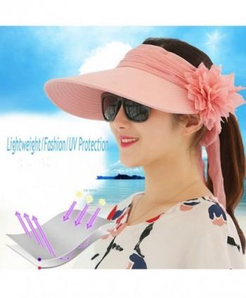 89dd3bcb Women Ladies Sun Hats Wide Brimmed Foldable UPF 50+ UV Protective ...