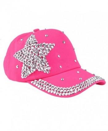 13a21c4ab1f GOTD Kids Hat Baseball Caps caps Snapback Girls Boys Toddlers Summer Sun  Hats - Hot Pink  GOTD Baseball Snapback Toddlers Summer ...