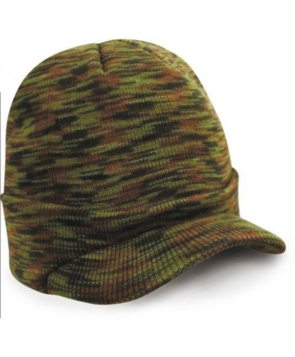 LUNIWEI Unisex Knitted Woolen Beanie Cadet Ski Cap Winter Warm Solid Hat - Multicoloured - C812LAXV3X9