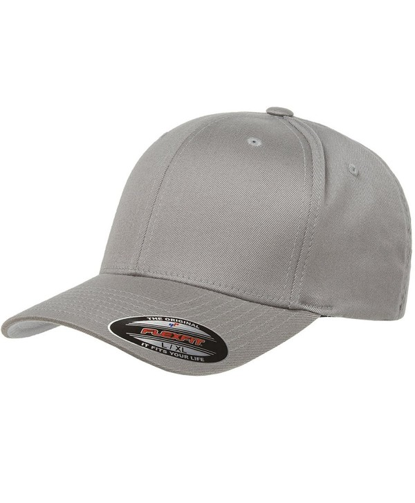 6277 Flexfit Wooly Combed Twill Cap - Extra Small (Gray) - CY11NV62S39