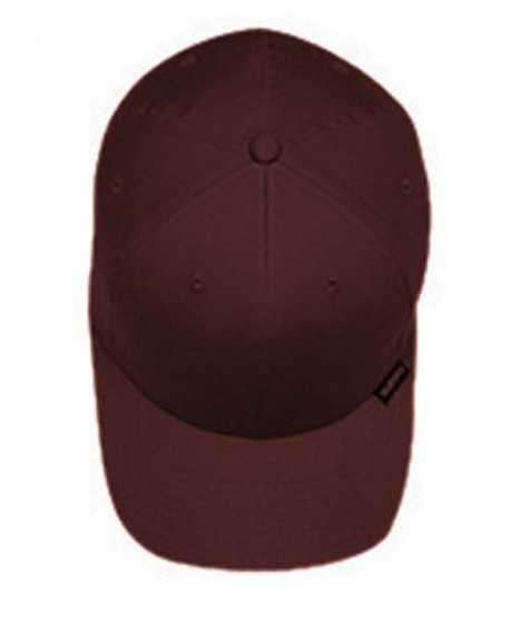 Yupoong 5001 Flexfit 6-Panel Structured Mid-Profile Cap S/M Brown - CZ113MH4WWR