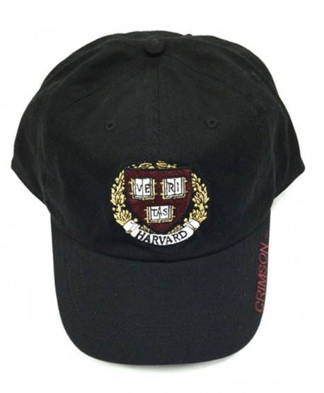 Harvard Cap with Shield - Black - CC12EZTGXUJ