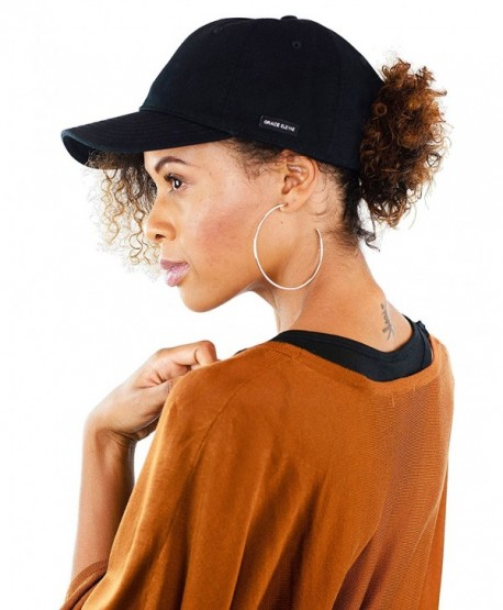 Grace Eleyae Women's Baseball Cap - Slap - Satin Lined Dad Hat - Back - CO12N6K4YW5