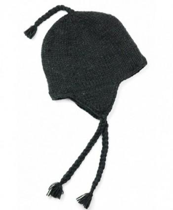 TCG Women's Hand Knit Wool Sherpa Hat - CD11PVF7Z63