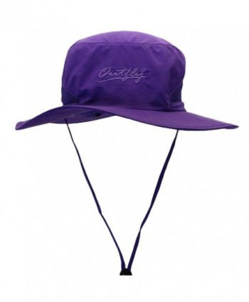 MatchLife Outdoor Soft Outdoor Fishing Hiking Sun Cap Soft Bucket Mesh Unisex Boonie Hat - Purple - CU182EW4MNT