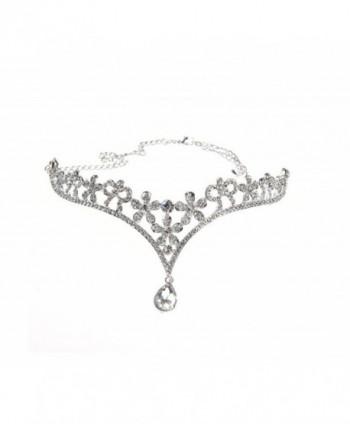 Wiipu Rhinestone Wedding Tiara Crown Teardrop Bridal Headband(n134) by wiipujewelry - CH127BZ42IT