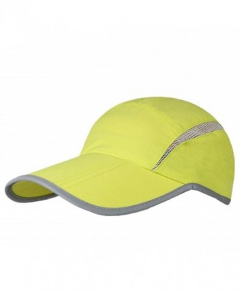 GADIEMENSS Quick Dry Sports Hat Lightweight Breathable Soft Outdoor Running Cap - Folding Series- Fruit Green - CS1838MHN0S