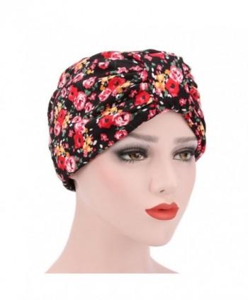 Womens Ruffle Beanie Muslim Headscarf