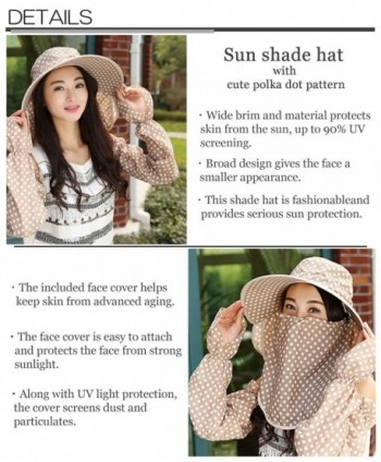 BTW JP Gardening Outdoor Fashionable included in Women's Sun Hats