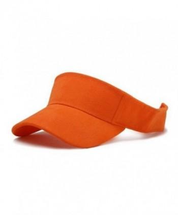 TopHeadwear Orange Adjustable Visor - C2111GX6ES9