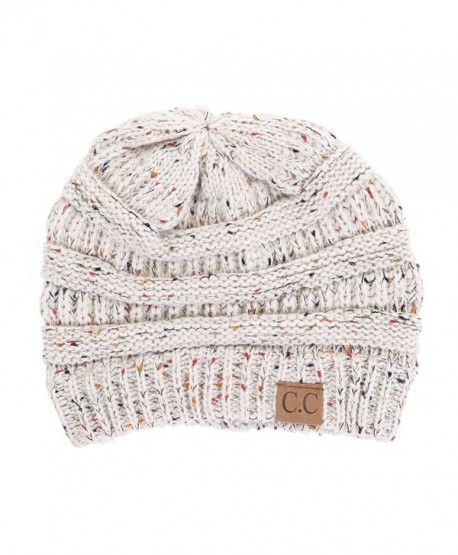 Funky Junque FunkyJunque C.C Confetti Knit Beanie - Thick Soft Warm Winter  Hat - Unisex - 96997fba8b8