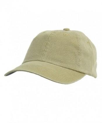 Corduroy Cotton Washed Cap-Khaki W32S56D - CD111QREQ8Z