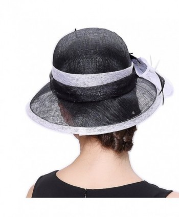 Junes Young Summer Sinamay Feather in Women's Sun Hats
