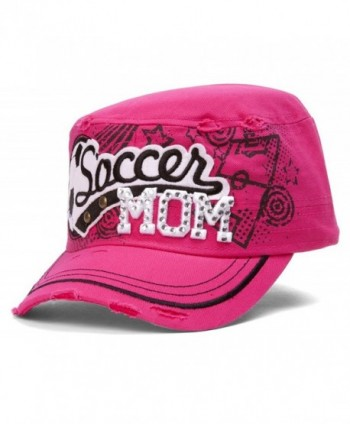 TopHeadwear Soccer Distressed Adjustable Cadet
