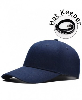 FURTALK Unisex Snapback Baseball Cap Hat - High Profile Solid Color Sporty Sexy Hats Keeper Original - Navy - CL182Z80N9O