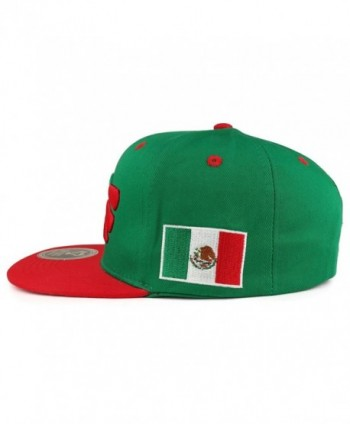 Hecho Mexico Eagle Embroidered Snapback