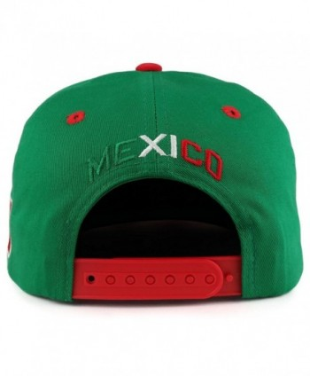 Hecho Mexico Eagle Embroidered Snapback in Men's Baseball Caps