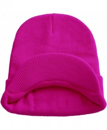 Visor Beanie Knit Hat With Brim newsboy Hats Winter Cap For Men ... 742b5b31470