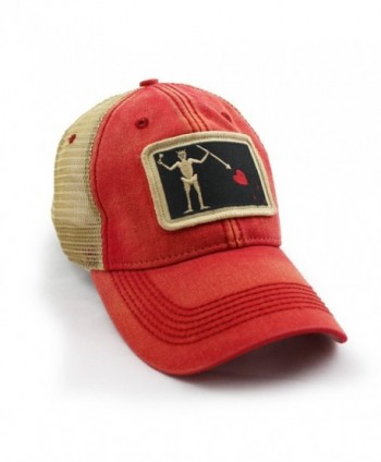 ab3d5695fd4834 ... Blackbeard Pirate Flag Trucker Nautical in Men's Baseball Caps