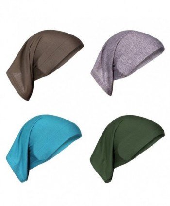 AIYUE%C2%AE Beanie Headscarf Headwear Turban - Blue/Green/Grey/Brown - CH188N6LGE2