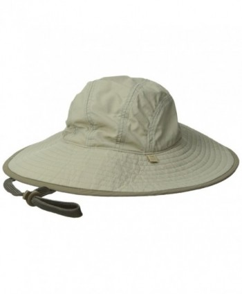 White Sierra Kool Sun Hat- Stone- Small/Medium - C411FWSJ6KH