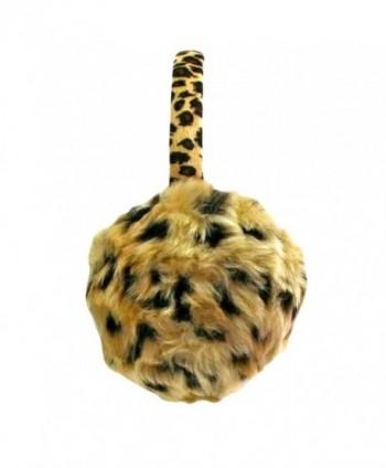 Leopard Print Faux Fur Earmuffs - CQ116TYAONP