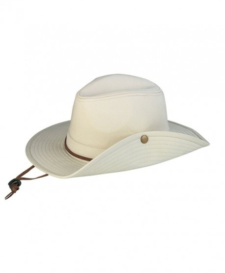 G Men's Cotton Twill Safari Bucket Hat - CE12184L9PN