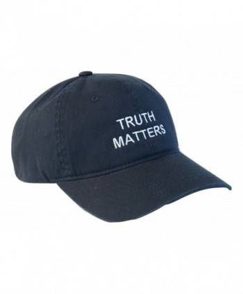 Truth Matters Cap Hat - Slate Blue & White - Navy Blue & White - CP182YSZ8E4