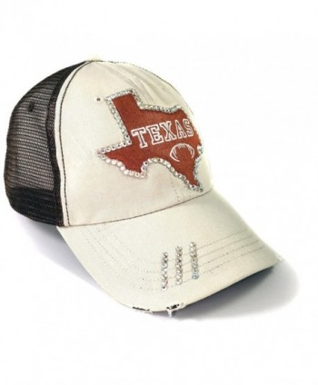 7bab03d9f662f Elivata Texas State Football Womens Fitted Baseball Hat- Orange Trucker- OS  - CU12MCRIWJV  Elivata Football Womens Baseball Trucker ...