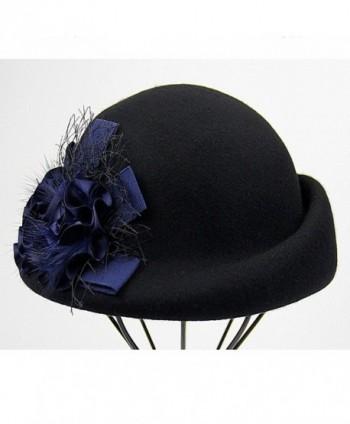 Maitose Womens Flower Beret Black in Women's Berets
