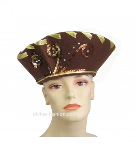 1012d2c566cb4 Women S Hats Church Hat Dressy Formal 2519 Brown Cv185x6477e