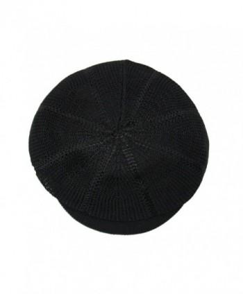 NY Summer Mesh newsboy Black in Women's Cowboy Hats