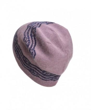Lawliet Womens Crochet Rhinestone Beanie in Women's Berets