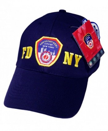 FDNY Baseball Cap Hat Officially Licensed by The New York City Fire Department - CZ11906IWYD