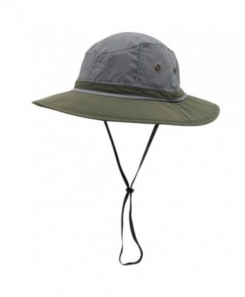Connectyle Outdoor boonie Fishing Bucket Hat Summer Colorblock Sun Hats  Hunting Cap - Dg+ag  Connectyle Outdoor Fishing Colorblock Protection ... 9aa60ba100c2