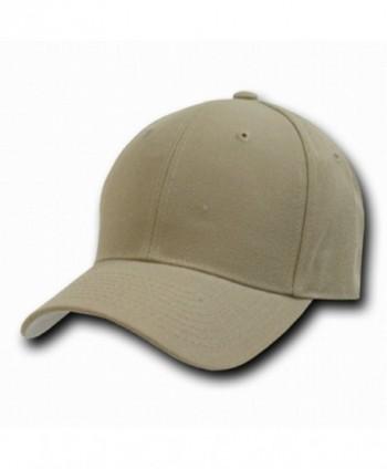 Decky Orgianl KHAKI Fitted Baseball Caps Size Cap - 6-3/4 - - CR119Q4R5C9