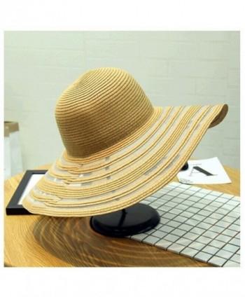 orota beach hats for women&ladies wide brim hats sun hat womens floppy straw hat - kaiki - C112FBHQ4Q7