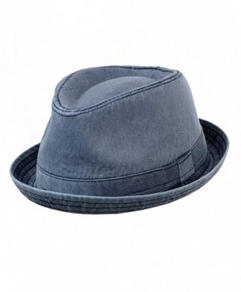 NYFASHION101 Classic Lightweight Cotton Unisex in Men's Fedoras