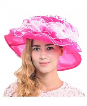 elegant Kentucky Wedding Organza S019 MT in Women's Sun Hats