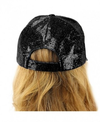 Everyday Glitter Liquid Baseball Hat in Women's Baseball Caps