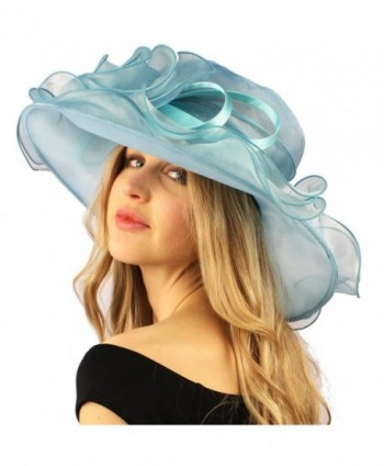 Darling Flower Ruffle Organza Hat