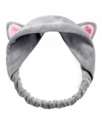 Yamalans Girl's Fashion Cute Cat Ears Headband Hair Head Band Party Gift Headdress - Gray - CG188CSYD82