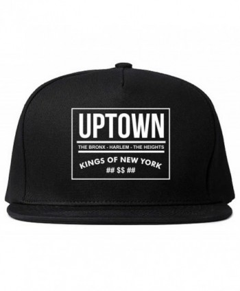 Kings Of NY Uptown Bronx Harlem Washington Heights NYC Snapback - Black - CU11LNN37EB