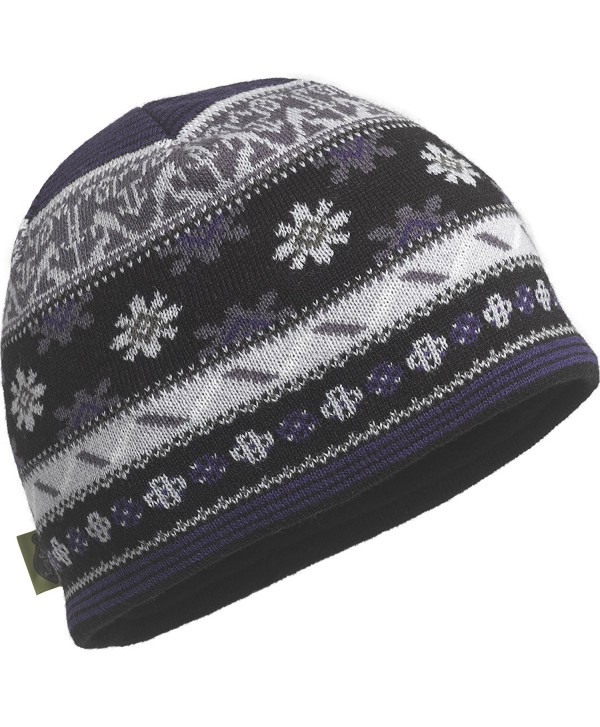 Turtle Fur Saami Midweight Merino Wool Knit Beanie- Black- One Size - CA11VD6TEQX