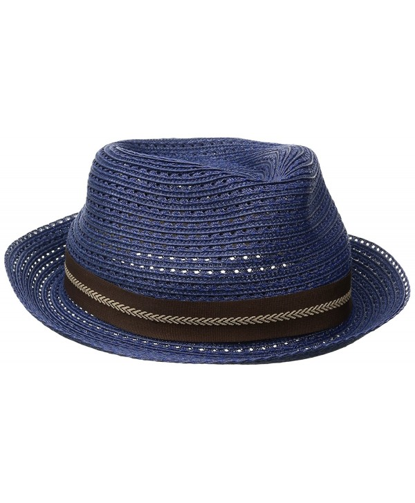Goorin Bros. Men's Vacation Day Fedora - Navy - CJ12MXTRXUR