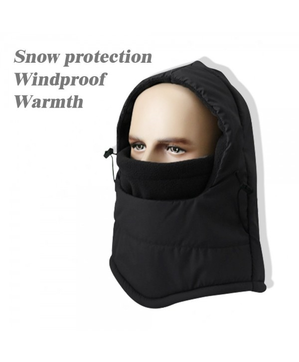 Weather Waterproof Balaclava Heavyweight Windproof - Black - CP186ANM4K7