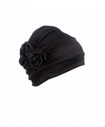 WETOO Beanie Flower Headscarf Headwear in Women's Skullies & Beanies